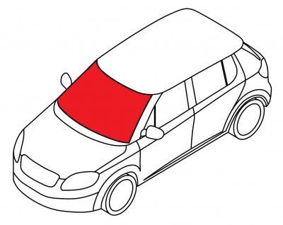 Лобовое стекло BMW 5 SERIE - E-60 SED/TOU