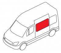 Боковое cреднее подвижное левое MERCEDES-BENZ CITAN W415